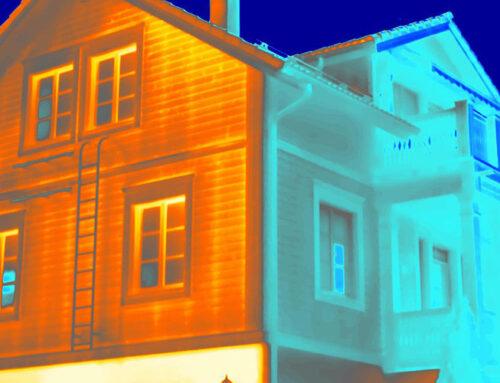 Rakennusten lämpökuvauksen prosessi ja apuvälineet