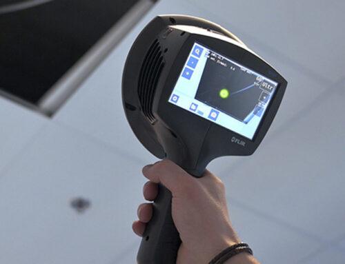 Äänen visualisointi FLIR Si124 -äänikameralla