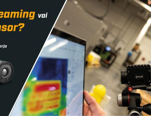 Automaatiolämpökamerat (A50/A70 & A400/A500/A700): Image Streaming vai Smart Sensor?